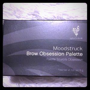 YOUNIQUE Brow Obsession Palette DarkBrunette/Black
